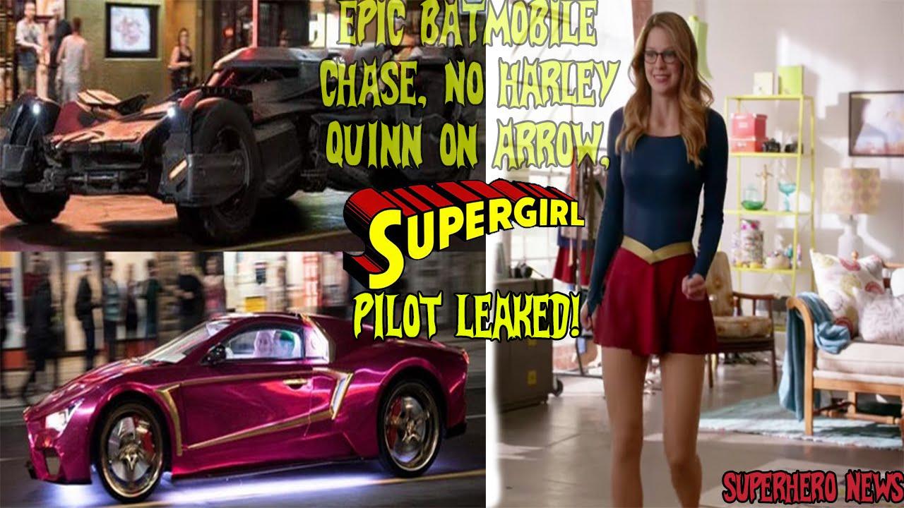 Leaked Arrow Pilot Supergirl Pilot Leaked