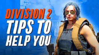 12 Important Division 2 Tips You Should Know