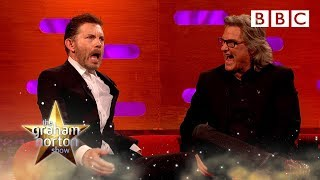 Lee Evans demonstrates his classroom pranks! - The Graham Norton Show
