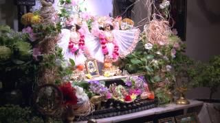 2014.10.16. Deities Greeting, Guru Puja HG Sankarshan Das Adhikari, Kaunas, Lithuania
