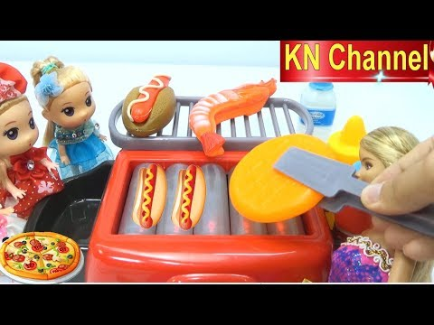 KN Channel Đồ chơi trẻ em BẾP NƯỚNG SIÊU HIỆN ĐẠI CỦA BÚP BÊ BARBIE