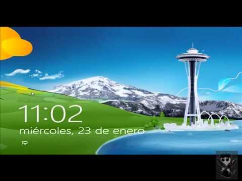 Tic r pido para pantalla negra en windows 8 100 for Escritorio para computadora