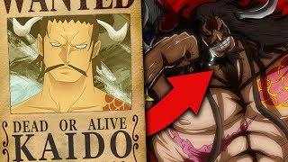 Die WAHRHEIT hinter Kaidos Stärke wurde bereits GEZEIGT...   One Piece