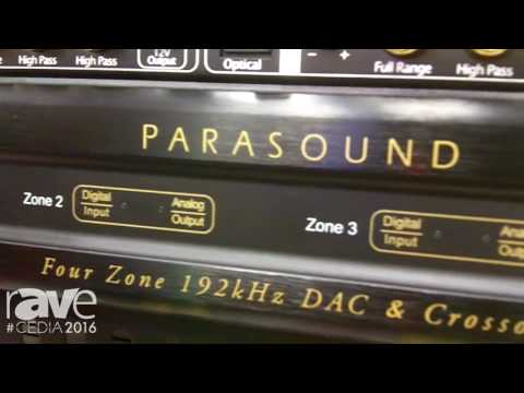 CEDIA 2016: ParaSound Introduces ZoneMaster 4 Dax 4-Zone Digital to Analog Converter