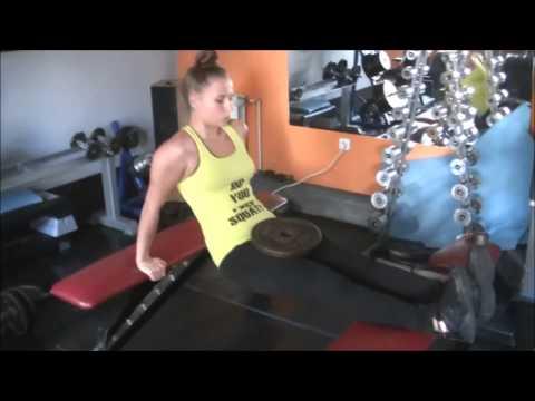 Fast Triceps Workout # Women Workout # Trening Dla Kobiet