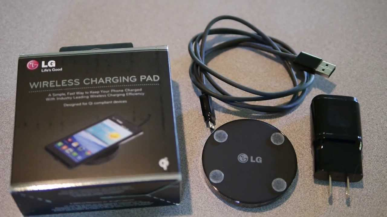 2 Door Charger >> LG WCP-300 Qi Quick Review - YouTube