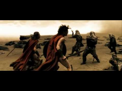 Rammstein vs 300 спартанцев