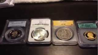 Some Different Coin Slabs and Advice