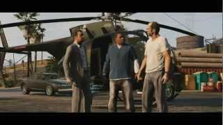 Официальный трейлер GTA 5 №2