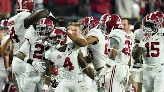 Alabama Defensive Highlights 2016-2017 Season (HD)