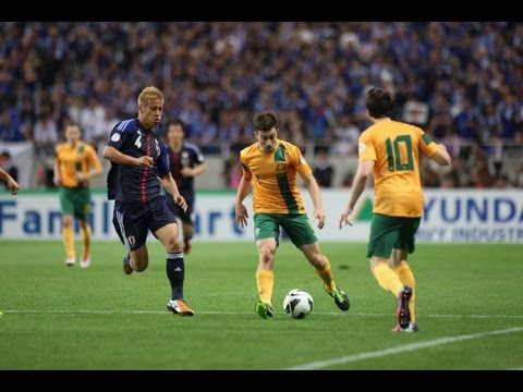 Japan vs Australia: FIFA World Cup 2014 Asian Qualifiers (RD 4 - MD8)