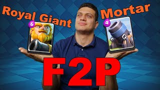 Best F2P Deck Clash Royal / Trophy Deck / Ladder Gameplay / Grand Challenge/ Pushing Trophys