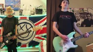 blink-182 The Only Thing That Matters guitar and bass cover
