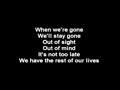 Rise Against - satellite (with lyrics on screen)