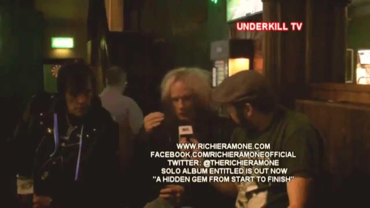 Richie Ramone Ramones Richie Ramone Interview Uktv