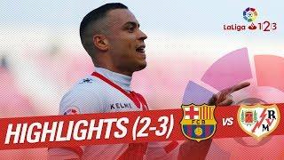 Resumen de FC Barcelona B vs Rayo Vallecano 2-3