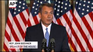 Obama,  Boehner, Still Not Making Deal on Shutdown  10/9/13