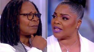 Whoopi Goldberg Stops Monique Before She Reveals Hollywood's Secret