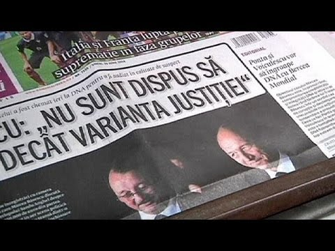 Korruptionsvorwurf gegen Bruder:Rumanisches Parlament fordert Rücktritt von Präsident Basescu