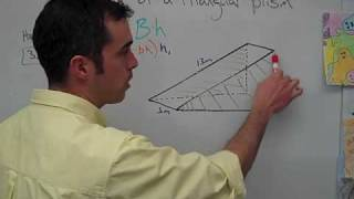 Geometry: Volume of a Triangular Prism