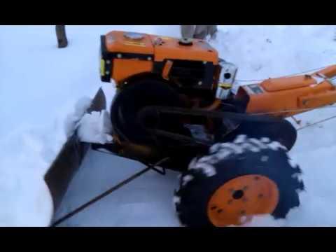 Мотоблок Кентавр 1080Д Отвалочная лопата