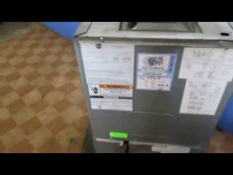 Used Air Conditioners For Sale Shipped AMERICAN STANDARD Used AC Air Handler TWG048A140B1 2Z
