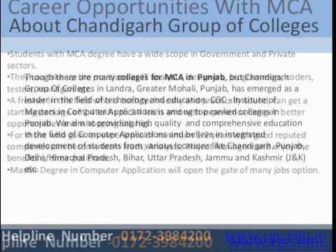 MCA College in Punjab