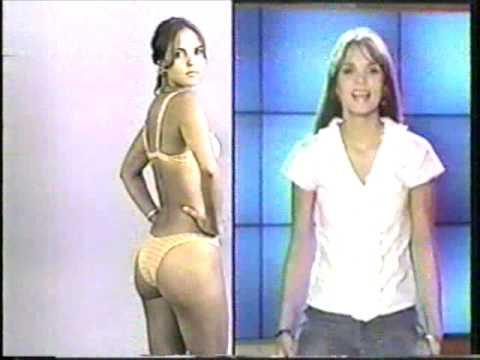 Catalina Aristizabal joven y delgada