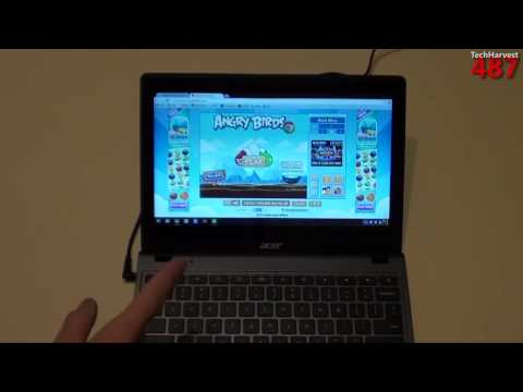 Acer Touchscreen Chromebook First Look: C720P