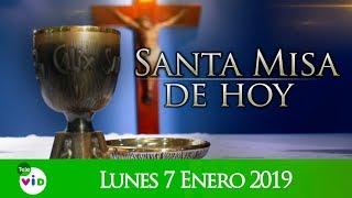 Santa misa de hoy ⛪ Lunes 7 de Enero de 2019, Padre Diego Bedoya - Tele VID