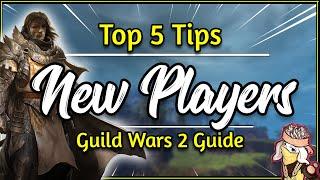 Guild Wars 2 - 5 NEW PLAYER TIPS 2018 [Short GW2 Beginner Guide]