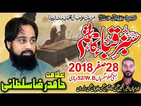Allama hamid rza sultani a Majlis 28 Safar 2018 Chak 52WB Khular Maghsian Vehari