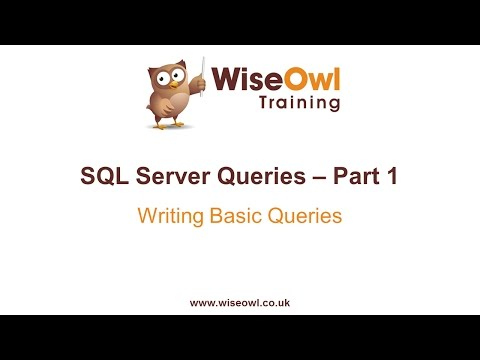 SQL Server - Writing Basic Queries