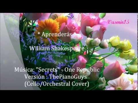Con el Tiempo Aprenderás - William Shakespeare - The Piano Guys
