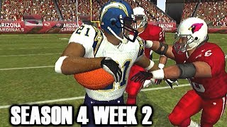 CHASING LT ALL DAY - Madden 2004 Cardinals franchise vs Chargers