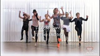 I'm So Excited | The Pointer Sisters - Retro Fitness dance & zumba style