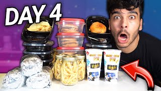 Only Eating Fast Food FOR A WEEK! *Fast Food Meal Prep* (CHALLENGE)