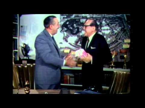 Walt Disney on The Jack Benny Hour, 1965