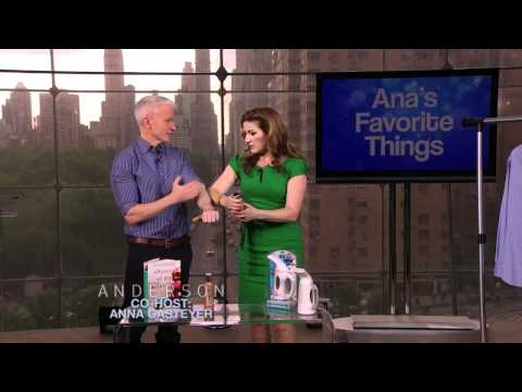 My novel on The Anderson Cooper show!