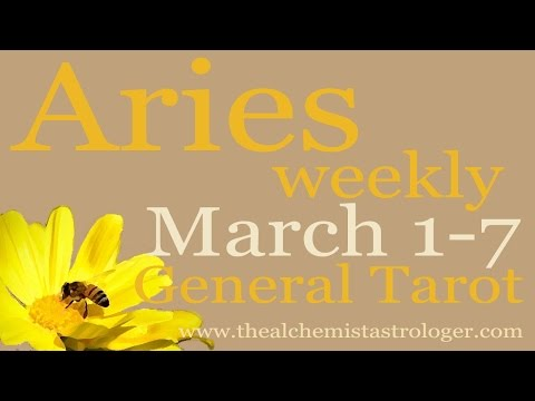 Aries March 1-7 2017/Week 1 General Tarot Reading