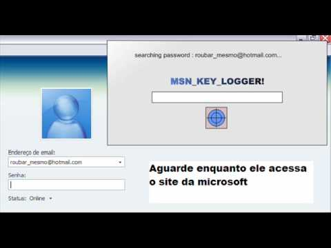 Roubar Senhas do MSN - To Steal Passwords of MSN
