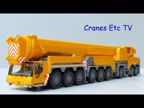 Cranes Etc TV:  WSI Liebherr LTM 1750-9.1 Mobile Crane Review