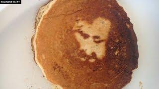 Miraculous 'Jesus Pancake'