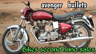 Bikes second hand sales bullet,avengers sales in Tamilnadu