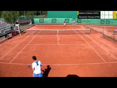 Miesten 10.000$ ITF Futures -turnauksen kaksinpelin välierät, Nastola (24.8.2012)