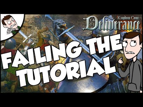 How To Fail The Tutorial on Kingdom Come Deliverance