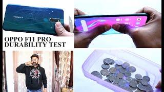 OPPO F11 PRO DROP TEST| DURABILITY TEST | BEND TEST | HALF TECH