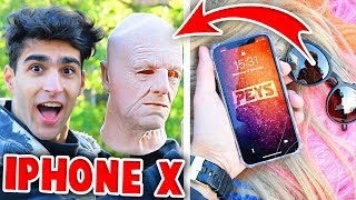 MASKERS EN PRUIKEN VS iPHONE X FACE ID!