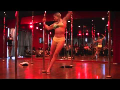 Fawnia Dietrich's Dirty Talk Pole Performance Front View video
