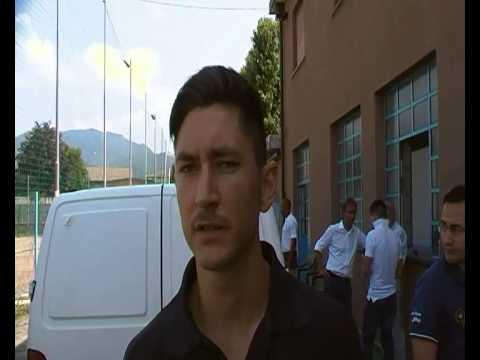 Il difensore milanese è da quattro anni sul Lario. E non vede l'ora di essere utile alla squadra. a Brevissimo diventerà padre.